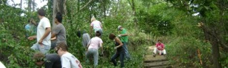 Century College students at Maplewood Nature Center