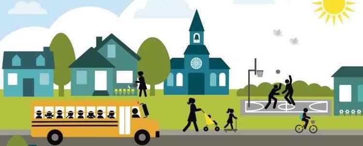 A bike/walk-friendly community? Imagine that!