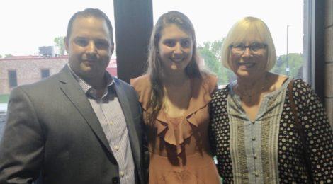 Isabel Birkeland is 2018 Scholarship Winner