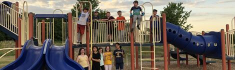 What's Happening on the Wildwood Natural Playground?